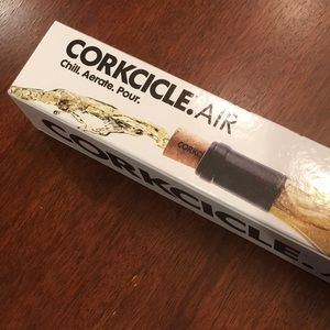 Corkcicle. AIR.   Chill. Aerate. Pour.   NEW
